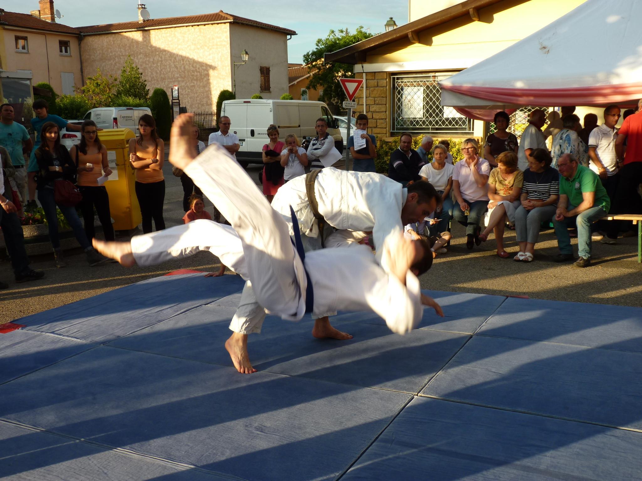Rosé nuit d'été 2014 - Judo